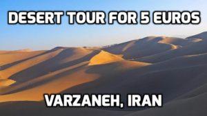 varzaneh-desert